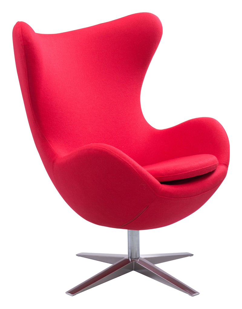 Skien Occasional Chair (Red)