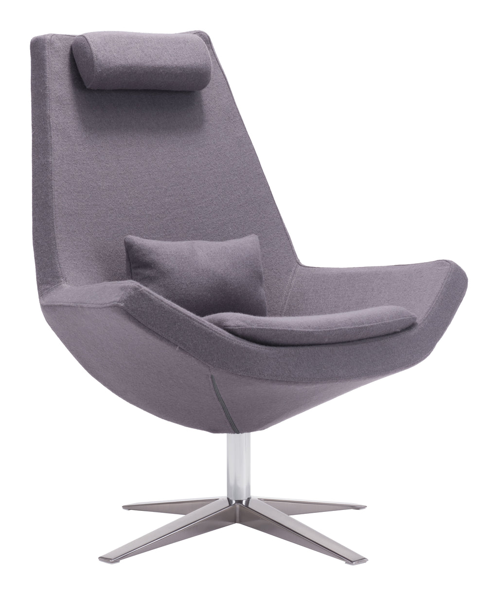 Bruges Occasional Chair (Charcoal Gray)