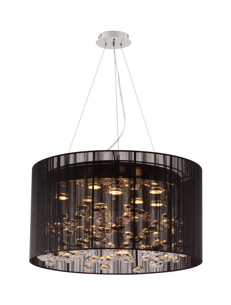 Symmetry Ceiling Lamp (Black)