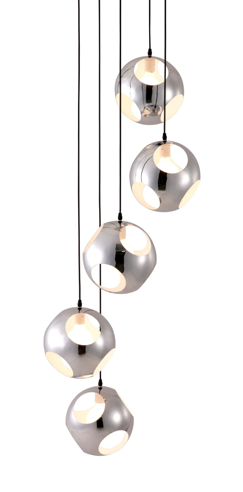 Meteor Shower Ceiling Lamp (Chrome)