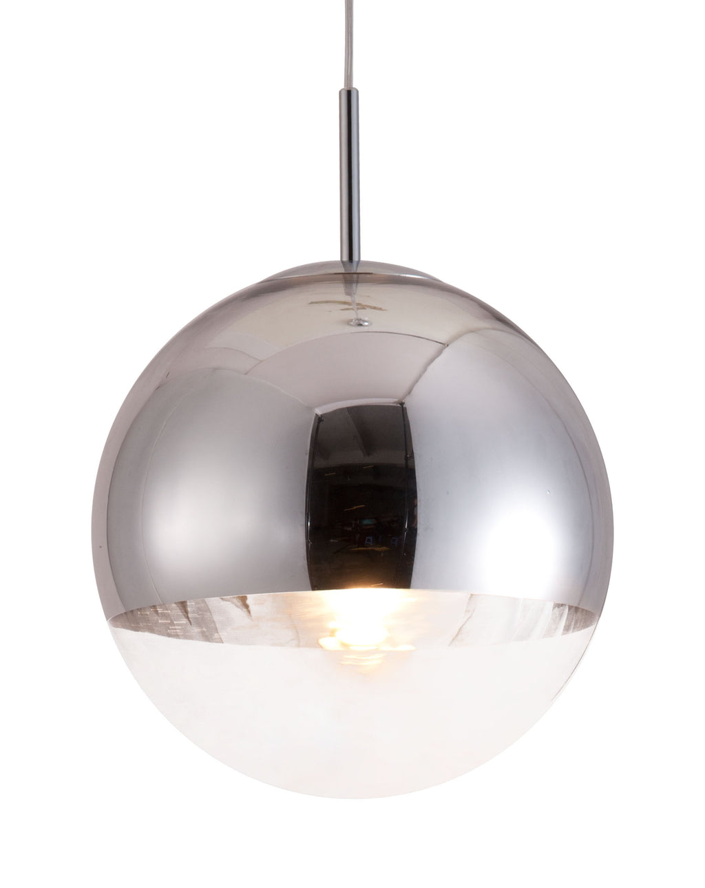 Kinetic Ceiling Lamp (Chrome)