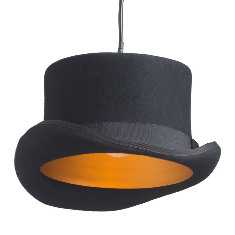 Aspiration Ceiling Lamp (Black & Gold)
