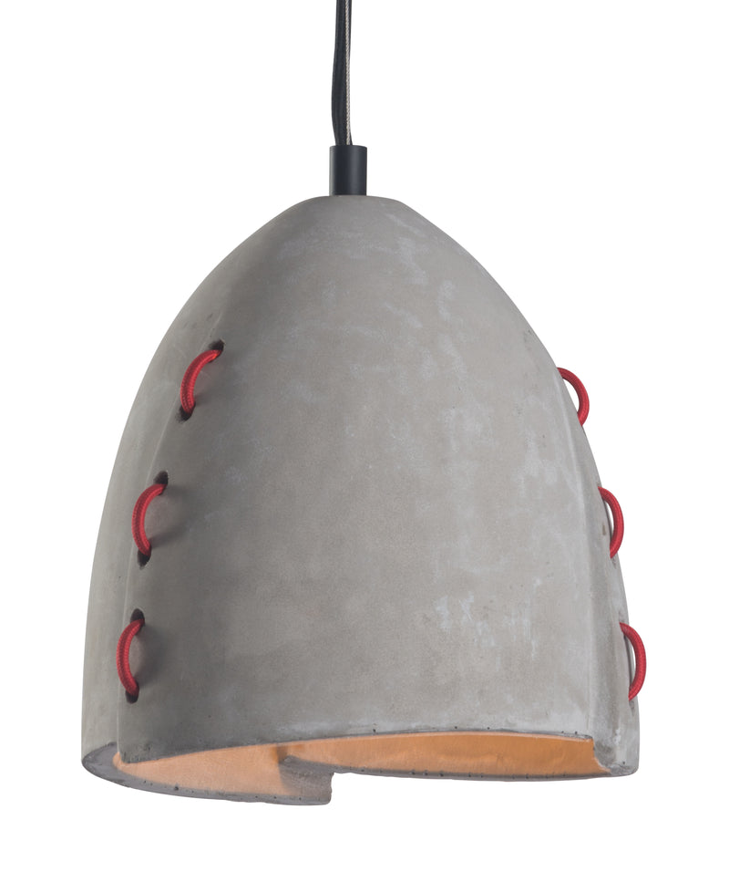 Confidence Ceiling Lamp (Concrete Gray)