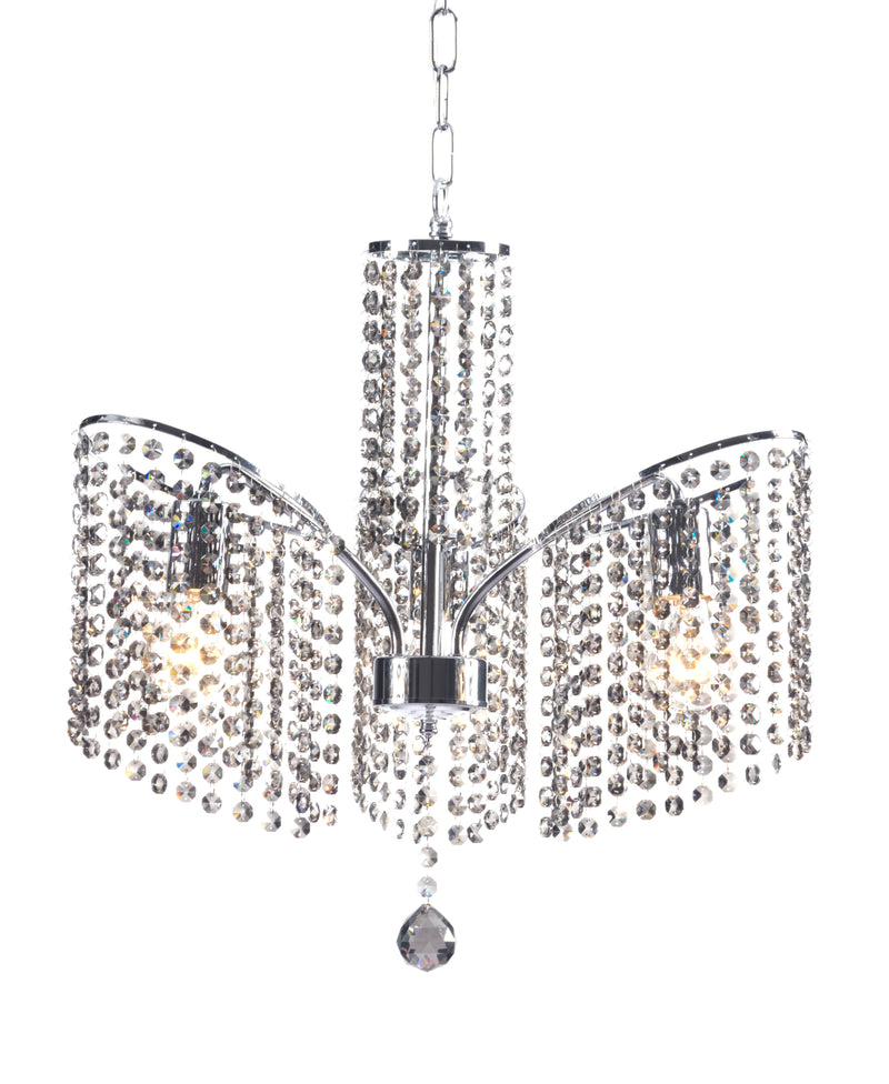 Keith Ceiling Lamp (Chrome)