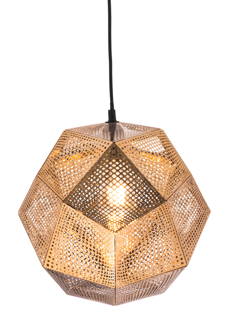 Bald Ceiling Lamp (Gold)
