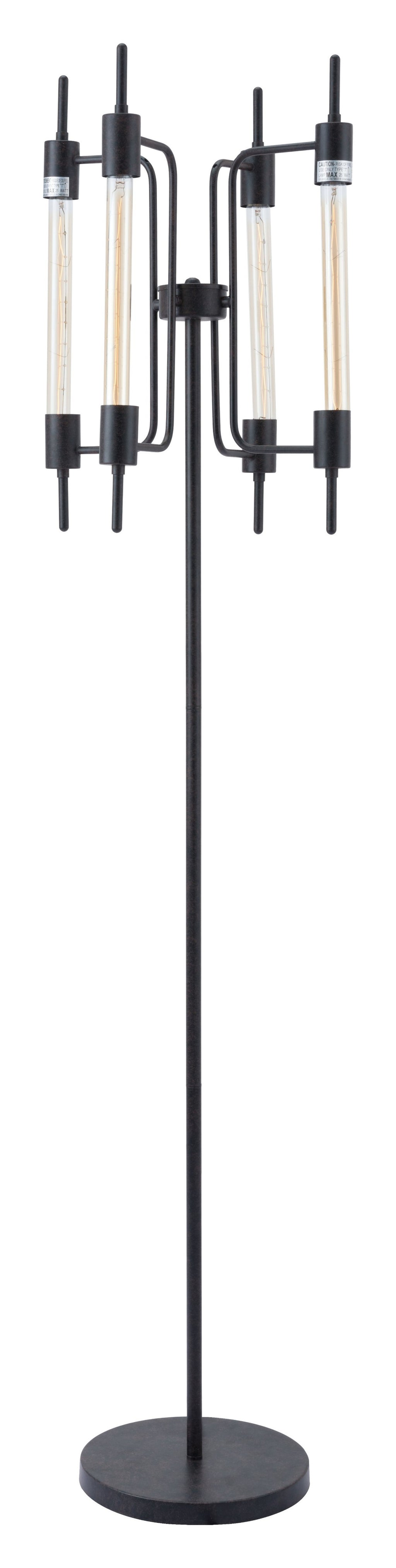 Gisborne Floor Lamp (Rust)