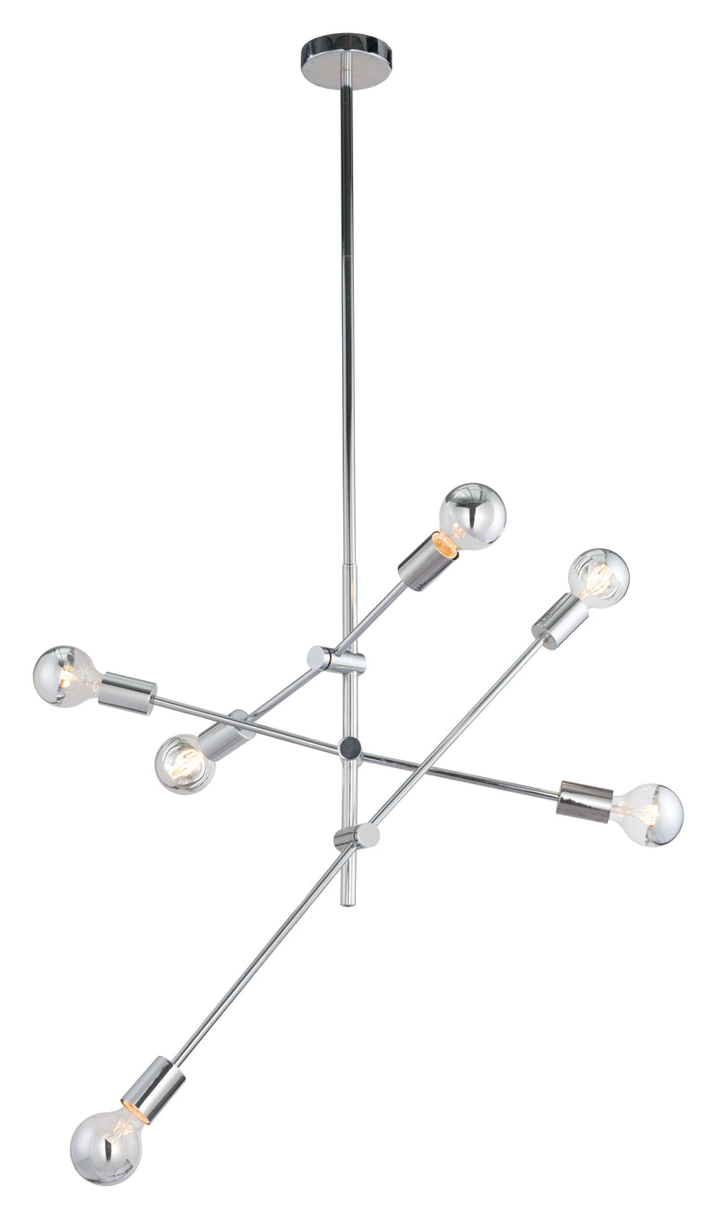 Brixton Ceiling Lamp (Chrome)