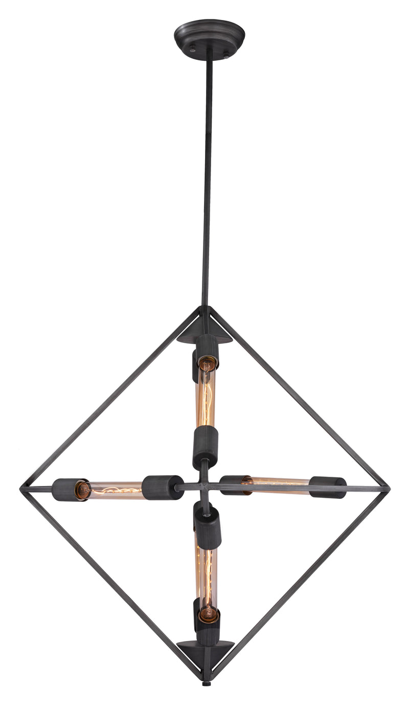 Union Ceiling Lamp (Rust)