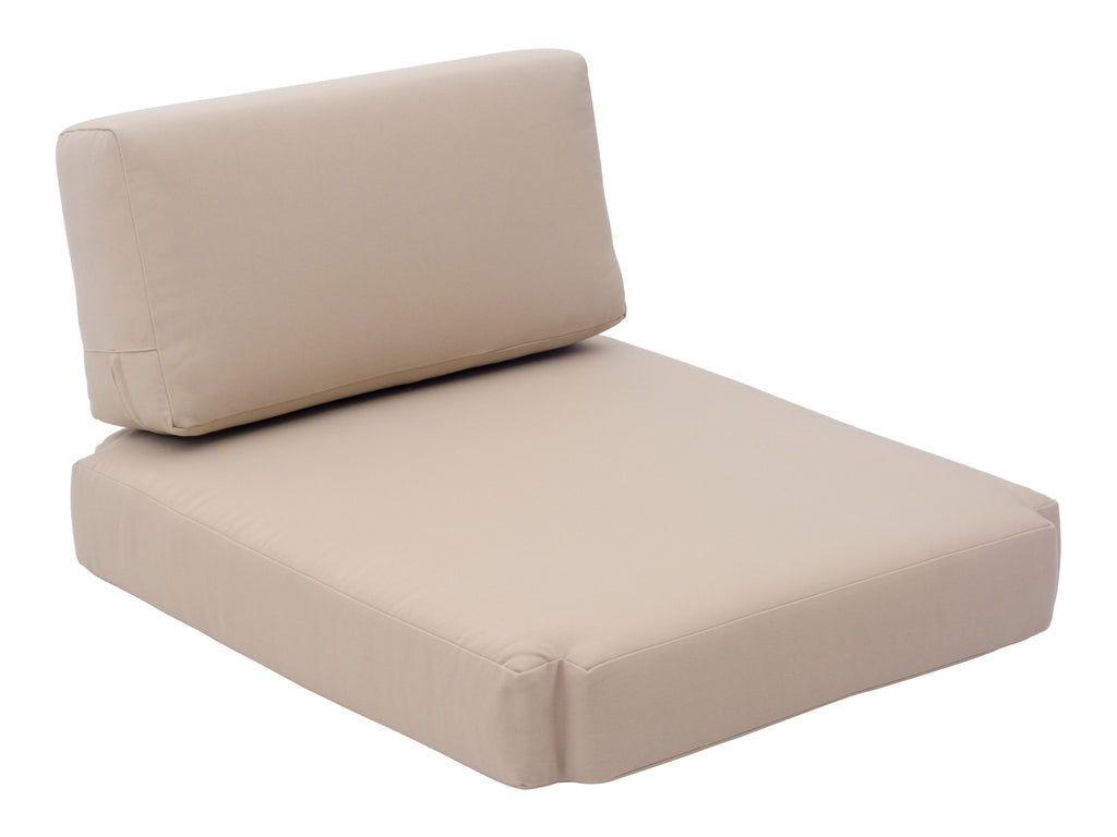 Bilander Arm Chair Cushions (Beige)