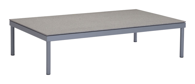 Sand Beach Coffee Table (Gray & Granite)