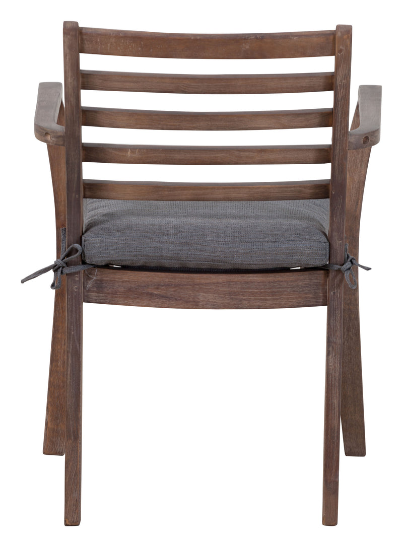 Sancerre Dining Chair (Natural & Gray)