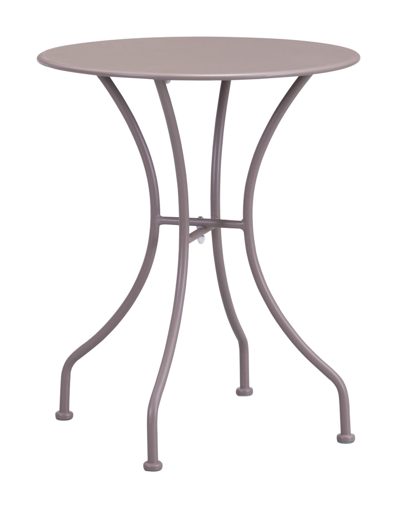 Oz Dining Round Table (Taupe)