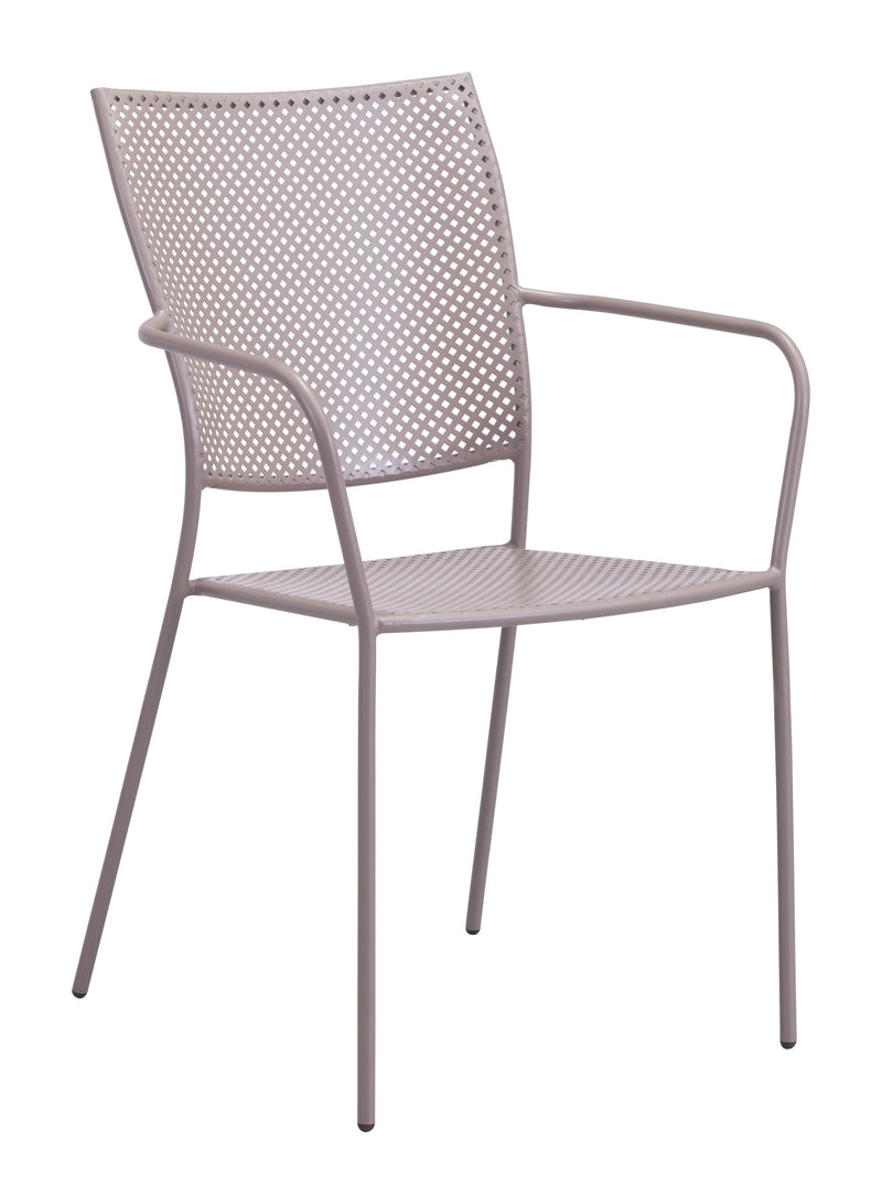 Pom Dining Chair (Taupe)
