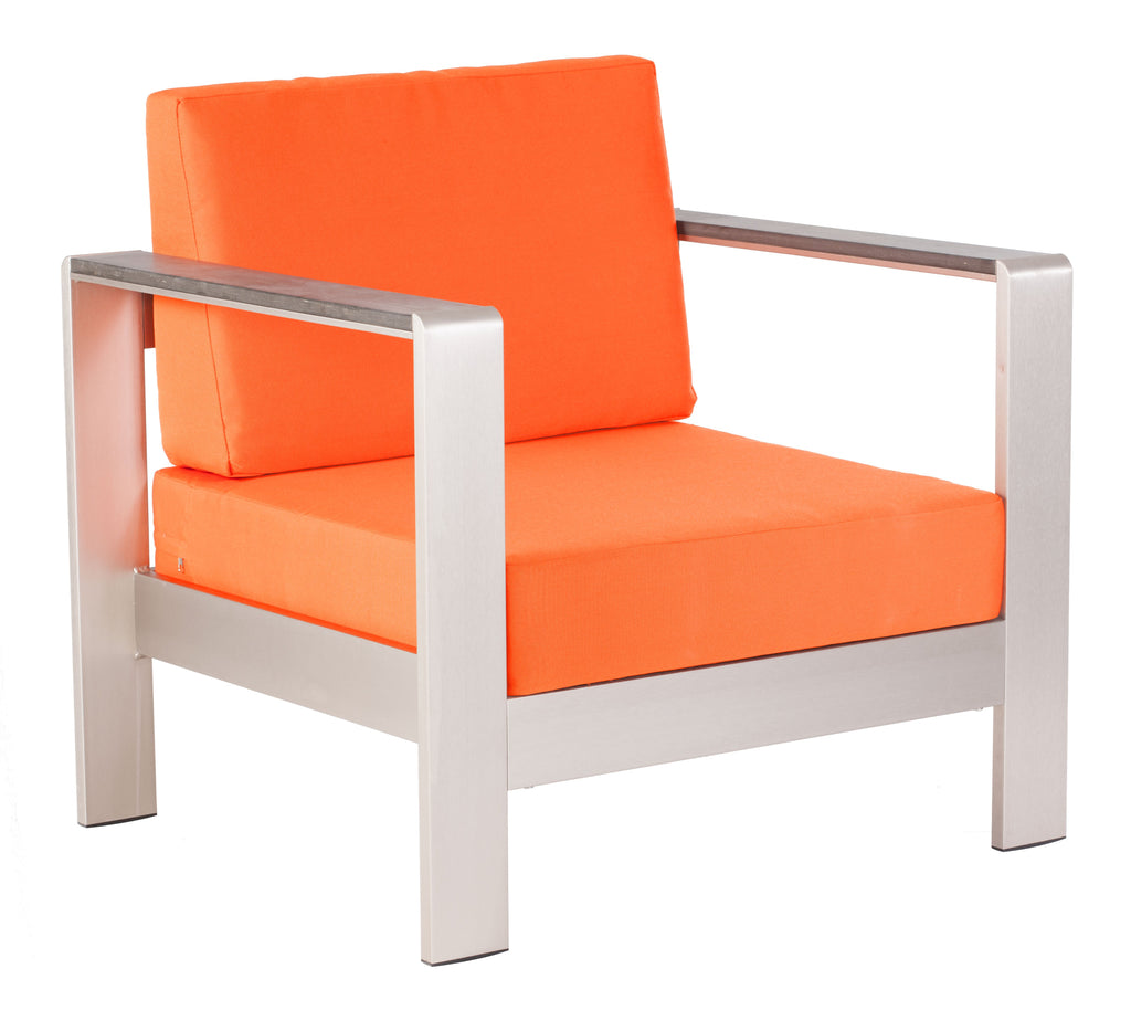 Cosmopolitan Arm Chair Cushions (Orange)