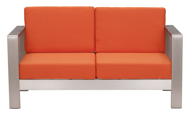 Cosmopolitan Sofa Cushions (Orange)