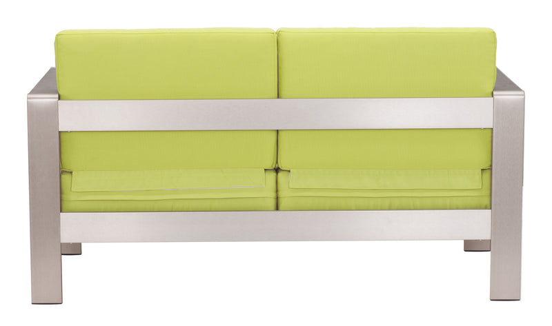 Cosmopolitan Sofa Cushions (Green)