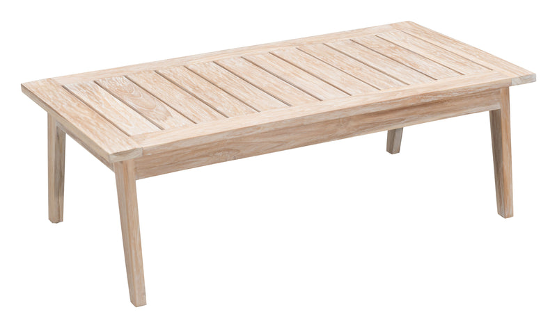 West Port Coffee Table (White Wash)