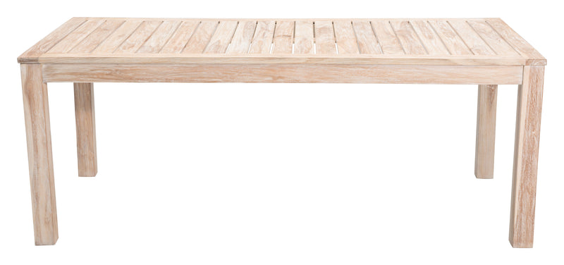 West Port Dining Table (White Wash)