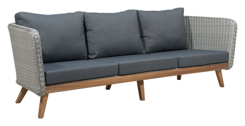 Grace Bay Sofa (Natural & Gray)