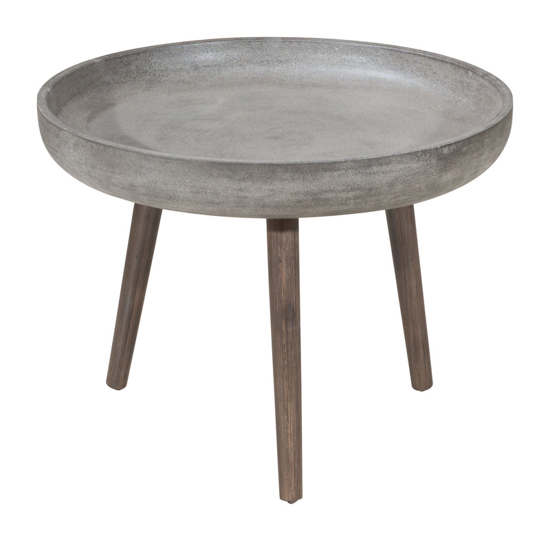 Brother Side Table (Cement & Natural)