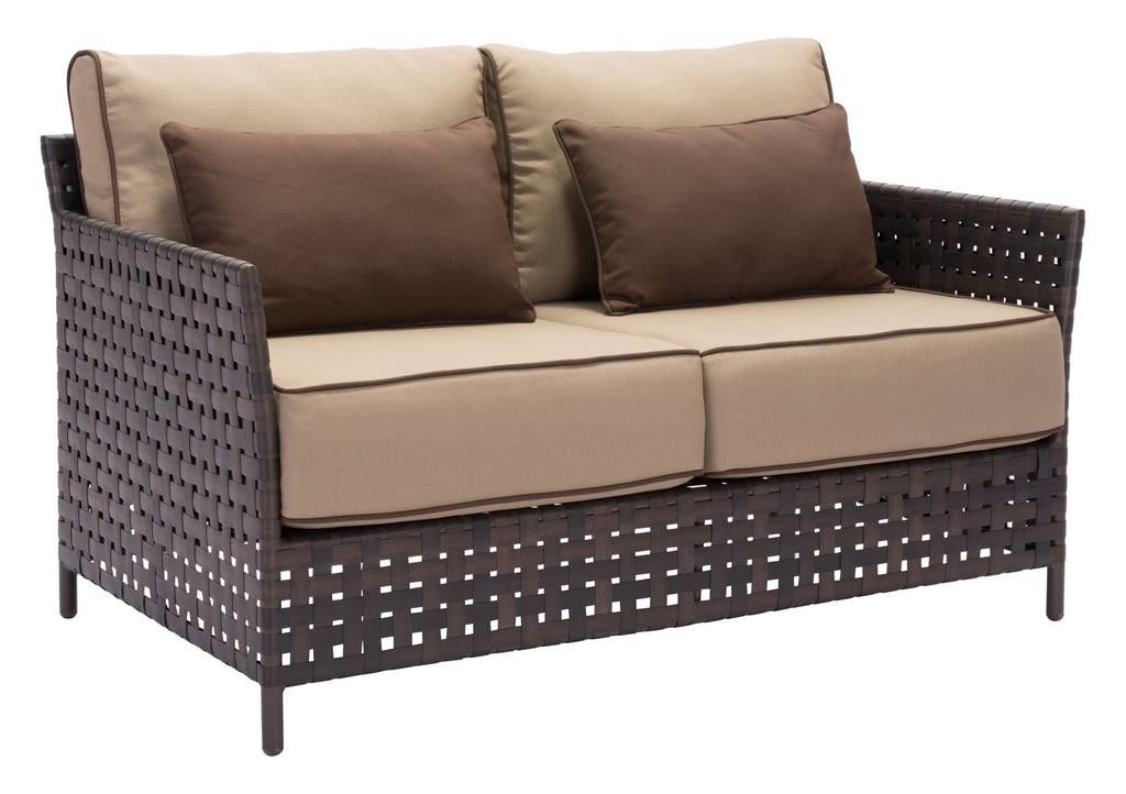 Pinery Sofa (Brown & Beige)