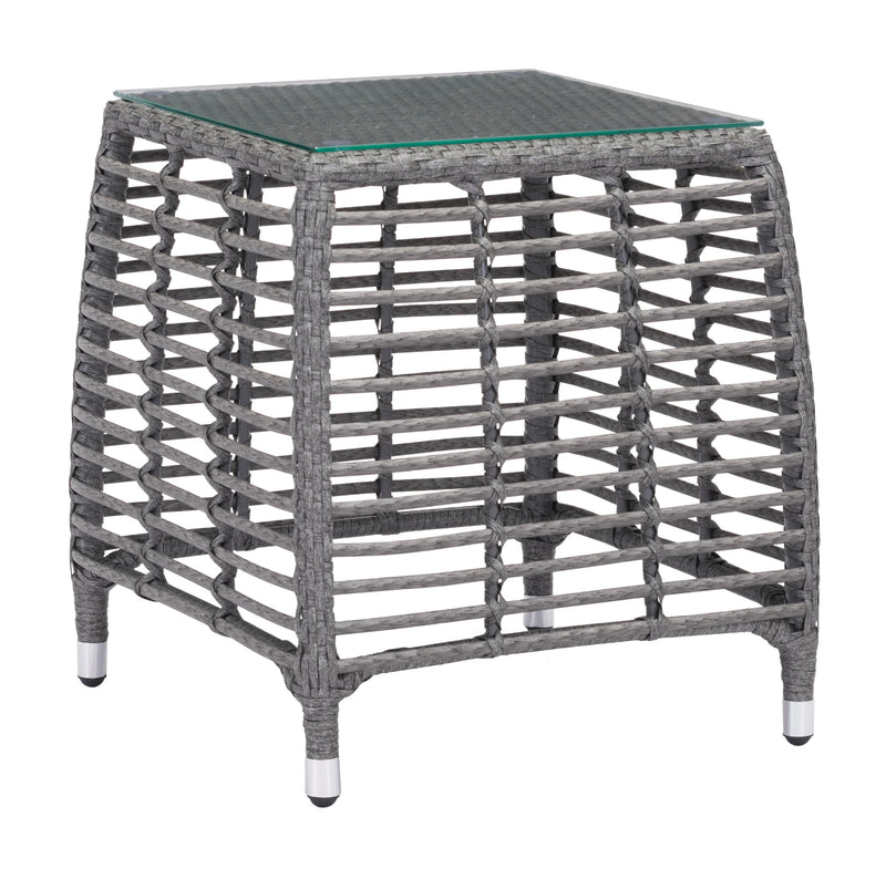 Trek Beach Side Table (Gray & Beige)
