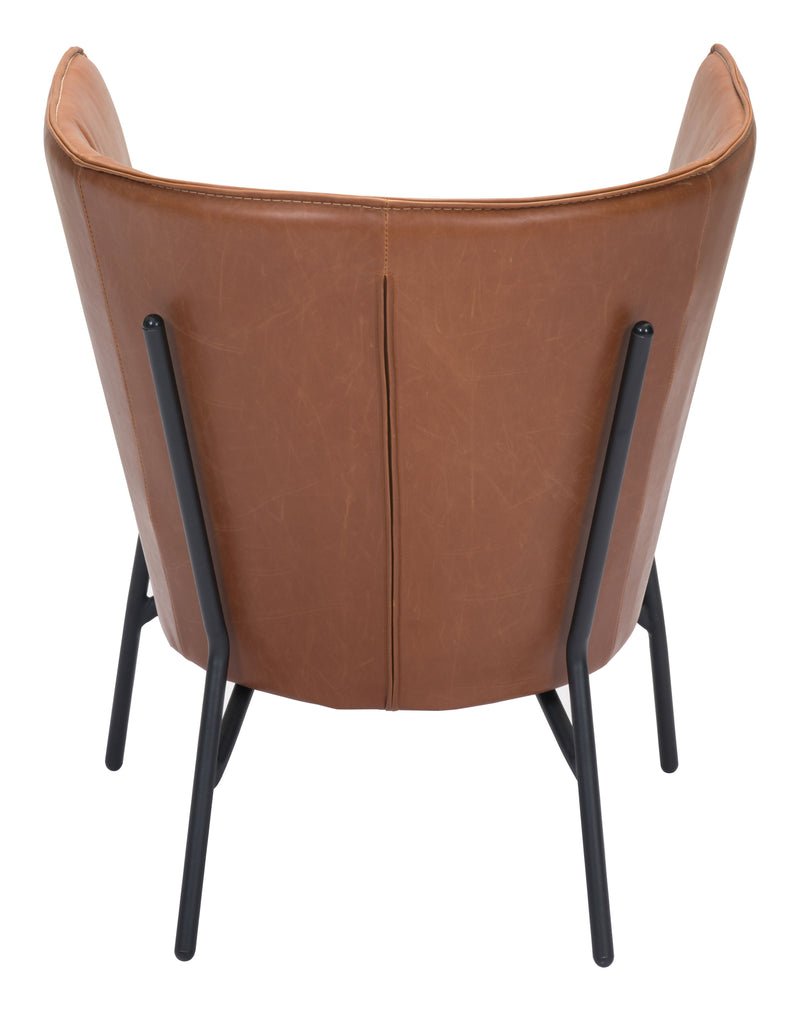Assange Occasional Chair (Coffee & Beige)