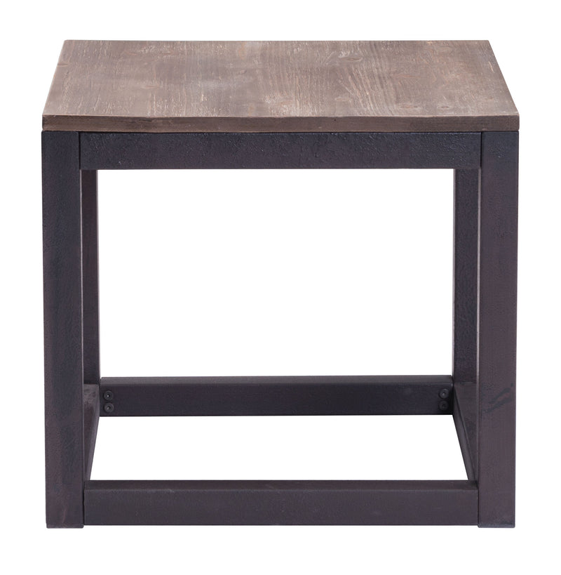 Civic Center Side Table (Distressed Natural)