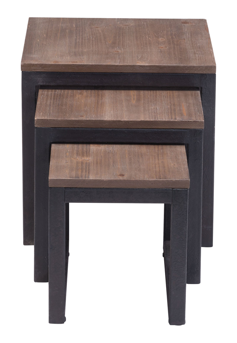 Civic Center Nesting Tables (Distressed Natural)