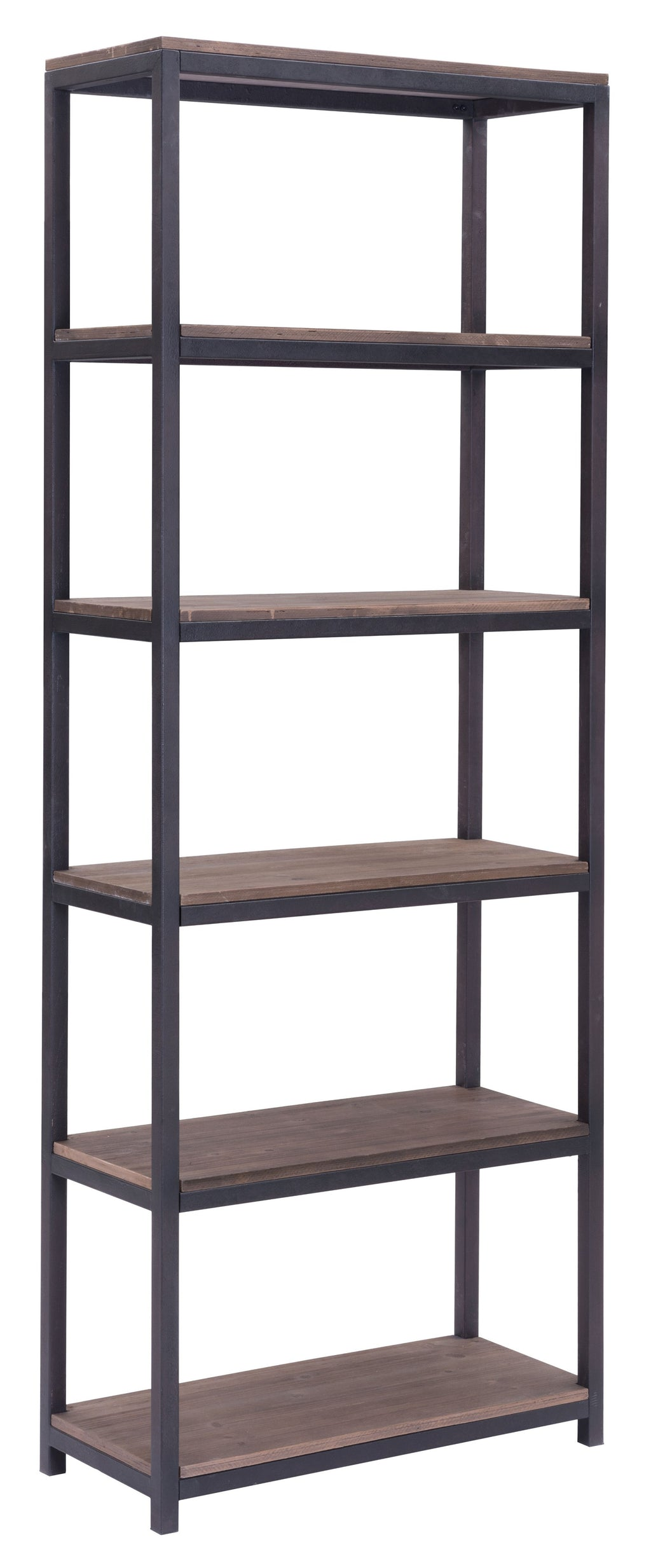 Mission Bay Tall 6 Level Shelf (Distressed Natural)