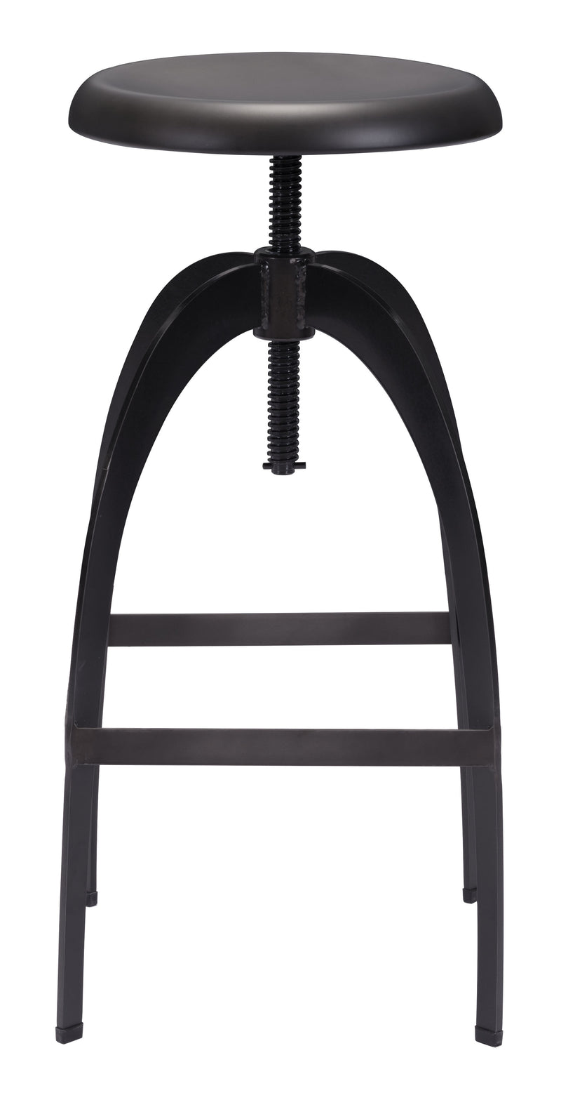 Aristotle Barstool (Antique Black)