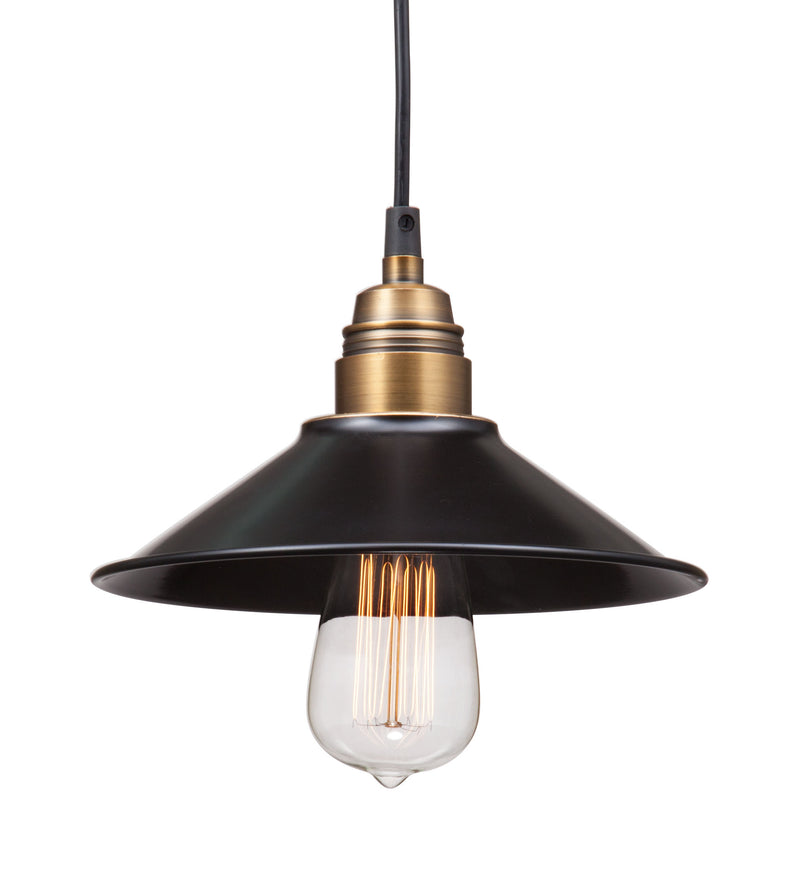 Amarillite Ceiling Lamp (Black & Copper)