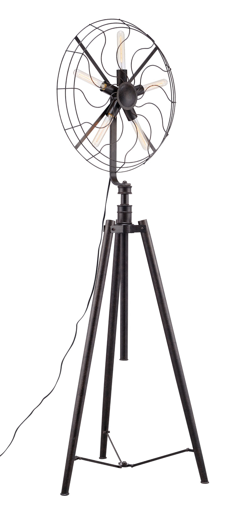Samsonyte Floor Lamp (Rust)