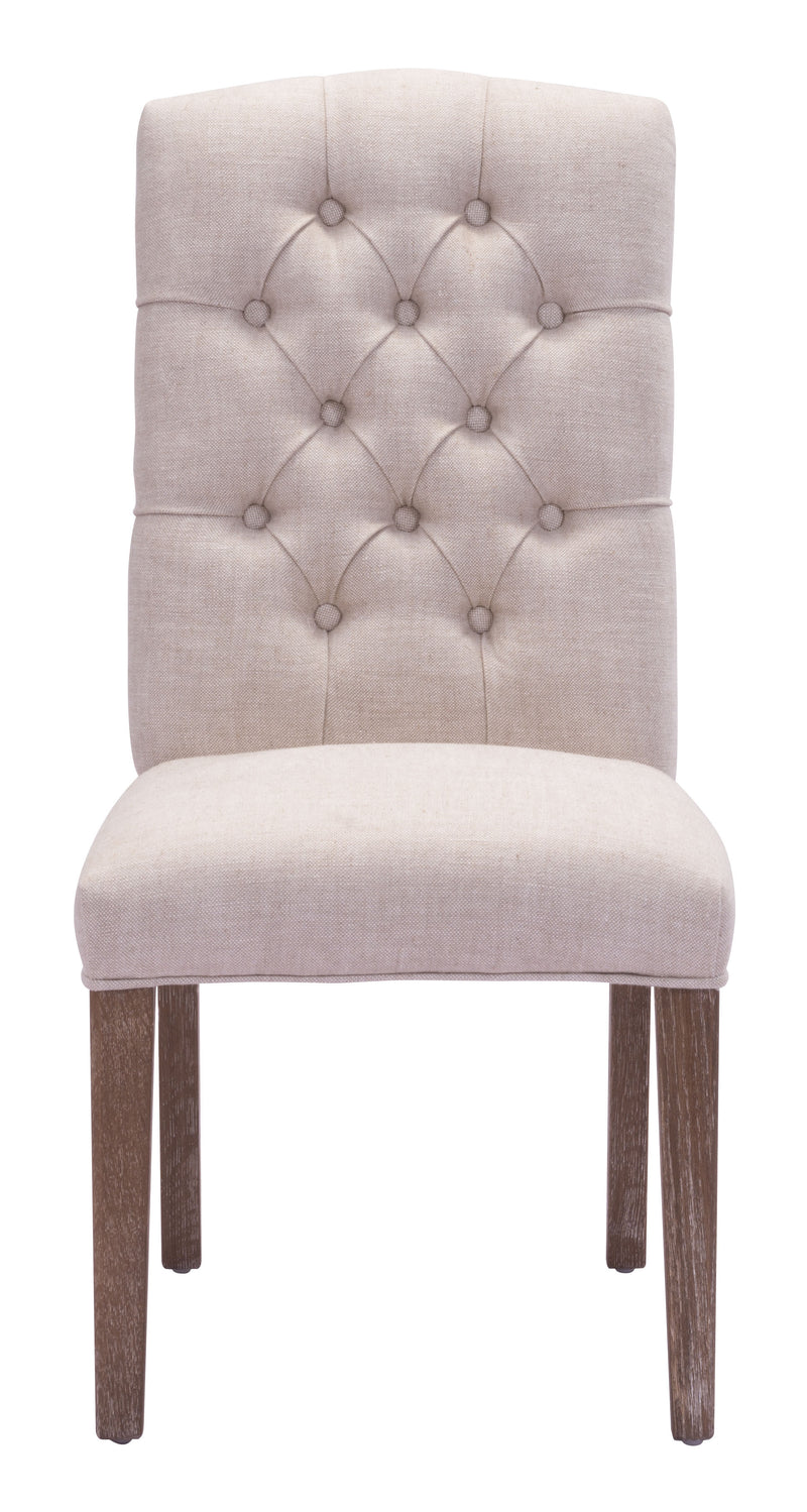 Gough Dining Chair (Beige)