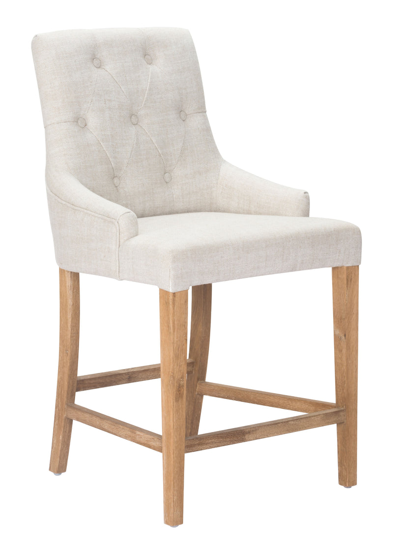 Burbank Counter Chair (Beige)