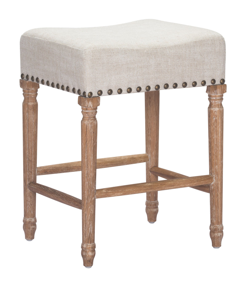 Anaheim Counter Stool (Beige)