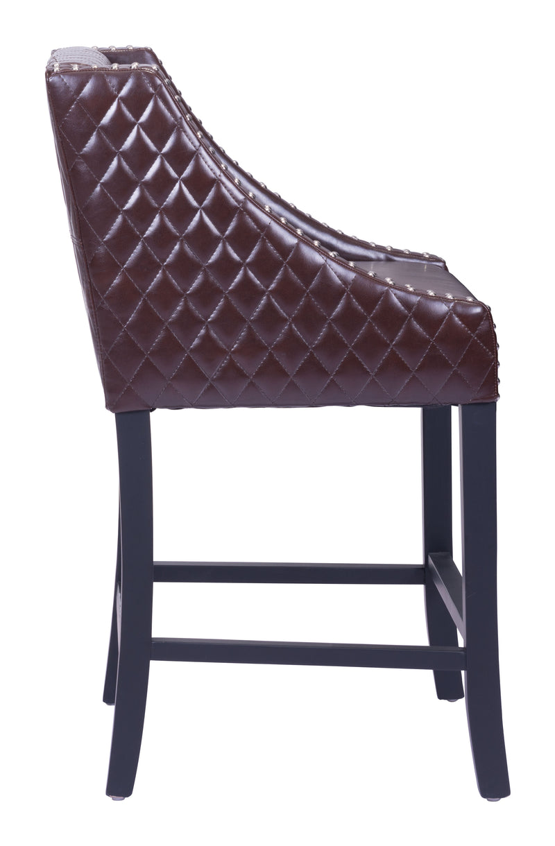 Santa Ana Counter Chair (Brown)