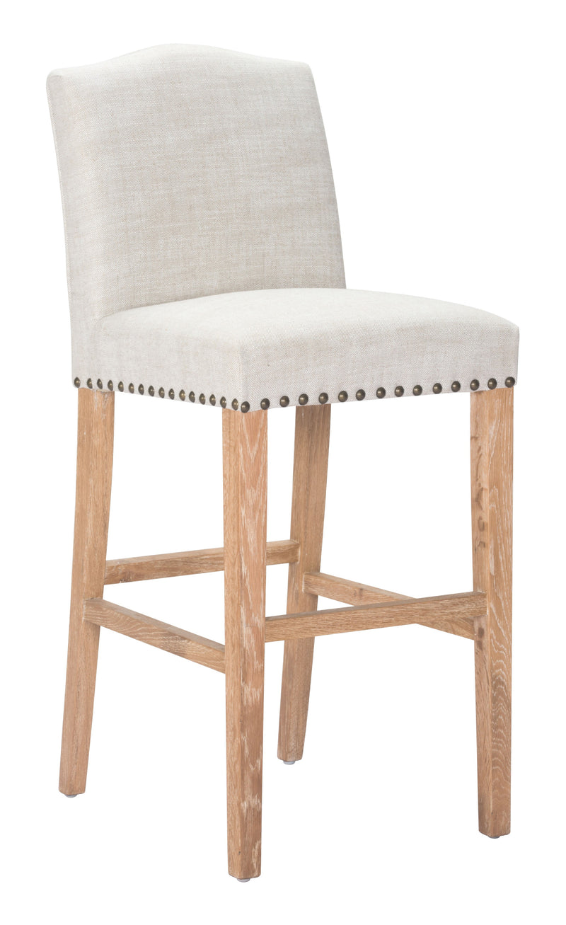 Pasadena Bar Chair (Beige)