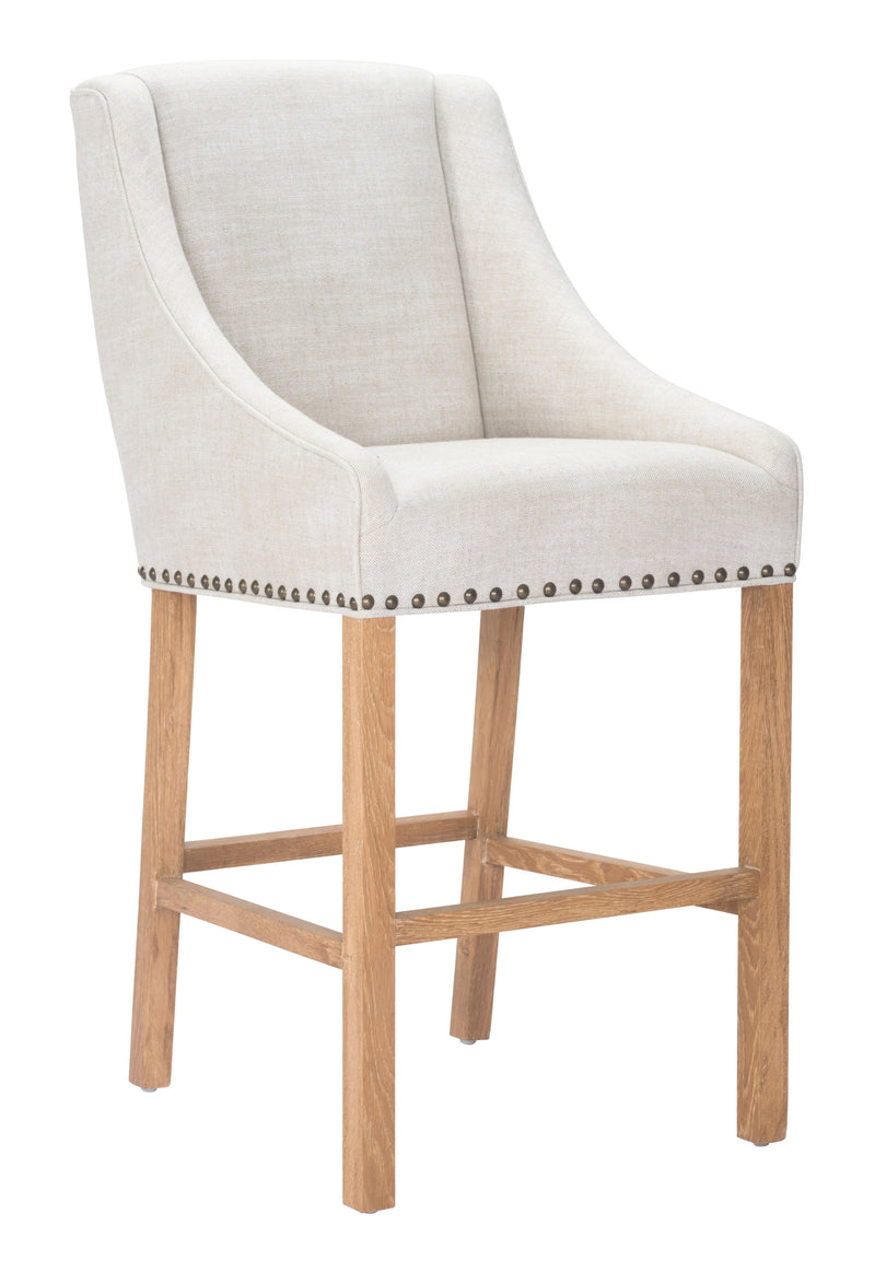 Indio Bar Chair (Beige)
