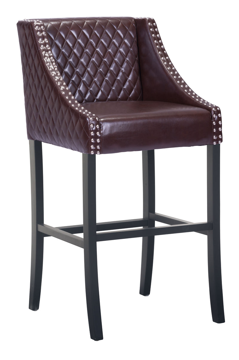 Santa Ana Bar Chair (Brown)