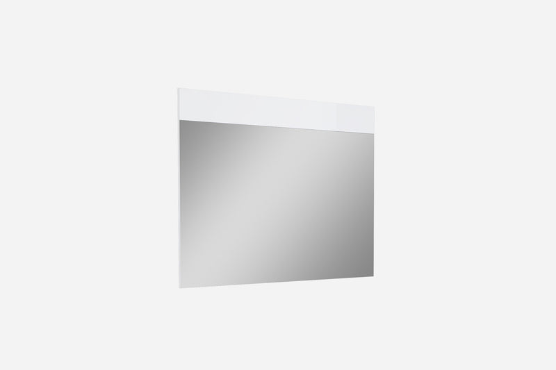 Diva Mirror, high gloss white