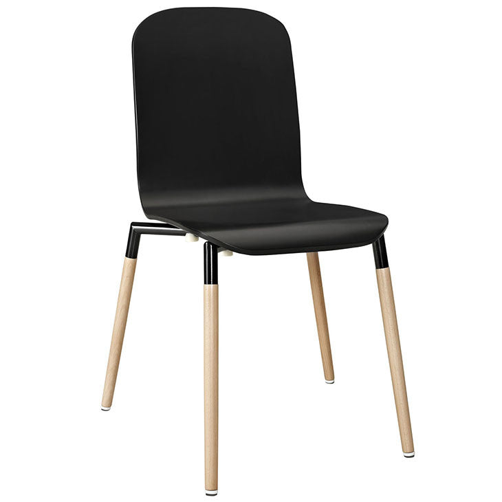 Stack Dining Wood Side Chair