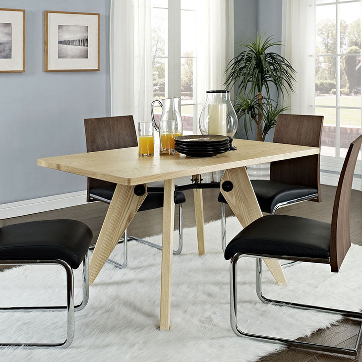 Landing Rectangle Wood Dining Table