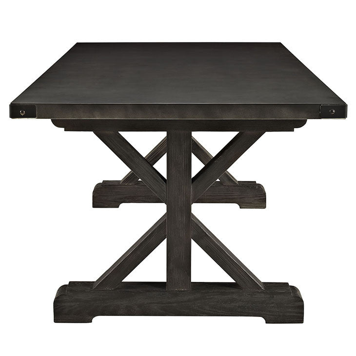 Anvil Rectangle Wood Dining Table