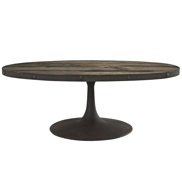 Drive Wood Top Coffee Table