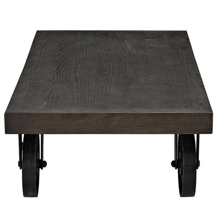 Garrison Wood Top Coffee Table