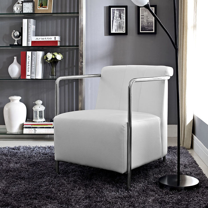Ebb Vinyl Lounge Chair