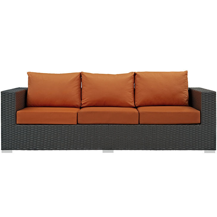 Sojourn Outdoor Patio Sunbrella® Sofa