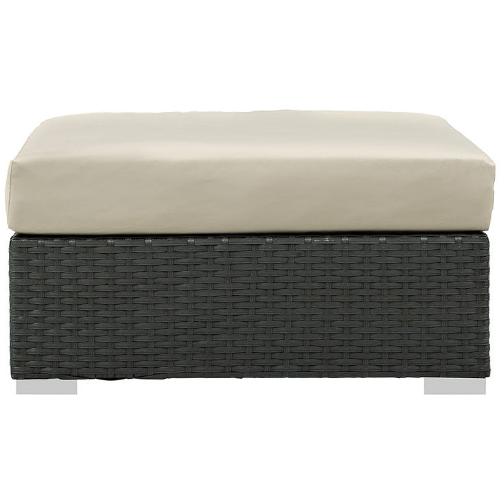 Sojourn Outdoor Patio Sunbrella® Square Ottoman