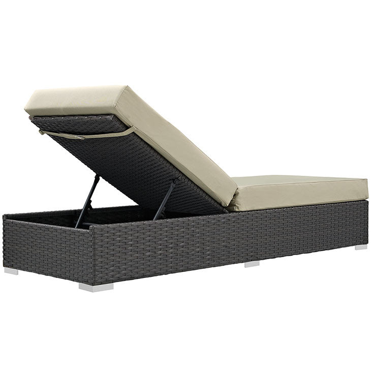 Sojourn Outdoor Patio Sunbrella® Chaise Lounge